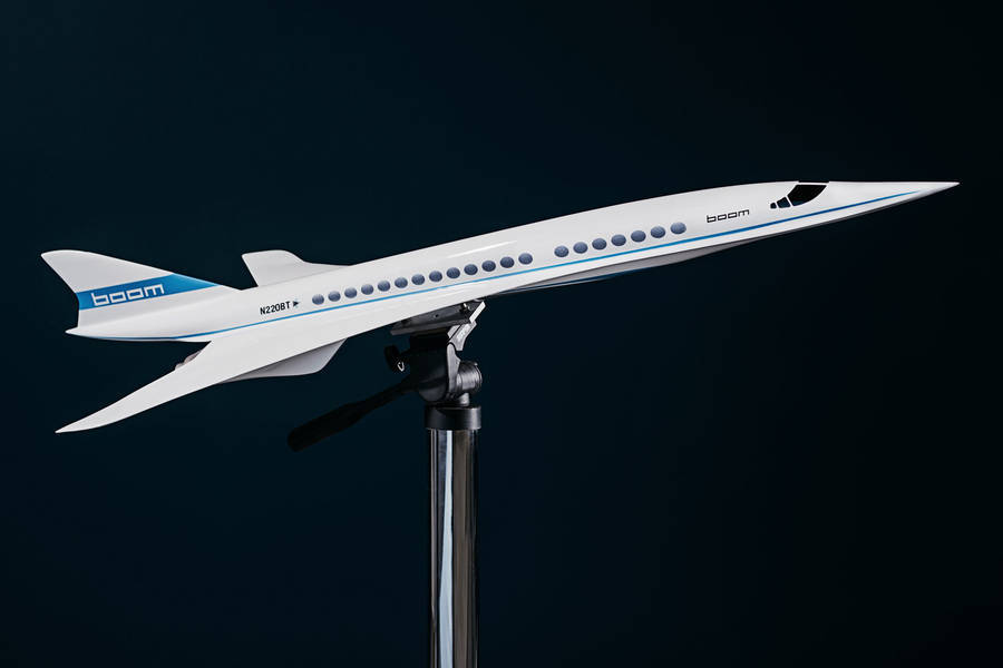 First Supersonic Flights by Boom (6 pics)