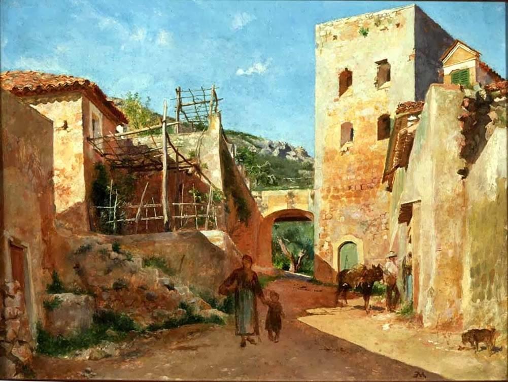 1 Jean-Louis-Ernest_Meissonier_-_Street_Scene_near_Antibes_-_WGA14741.jpg
