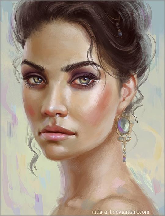 Brilliant Digital Art by Inna Vjuzhanina