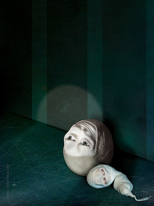 Creepy Photo Manipulations by Karina Marandjian
