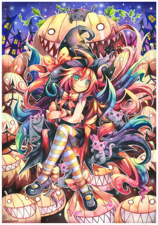 Psychedelic Manga by Emperor Penguin