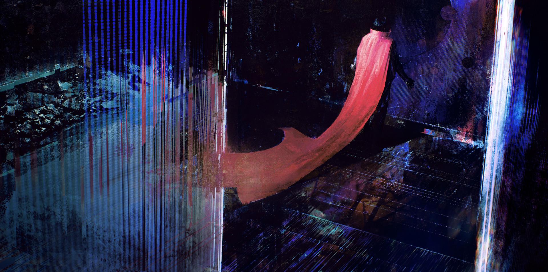 Doctor Strange Concept Art by Alexander Mandradjiev