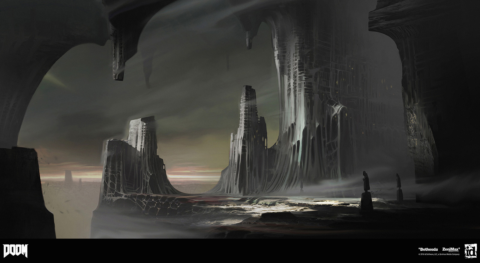 DOOM Concept Art by Jon Lane