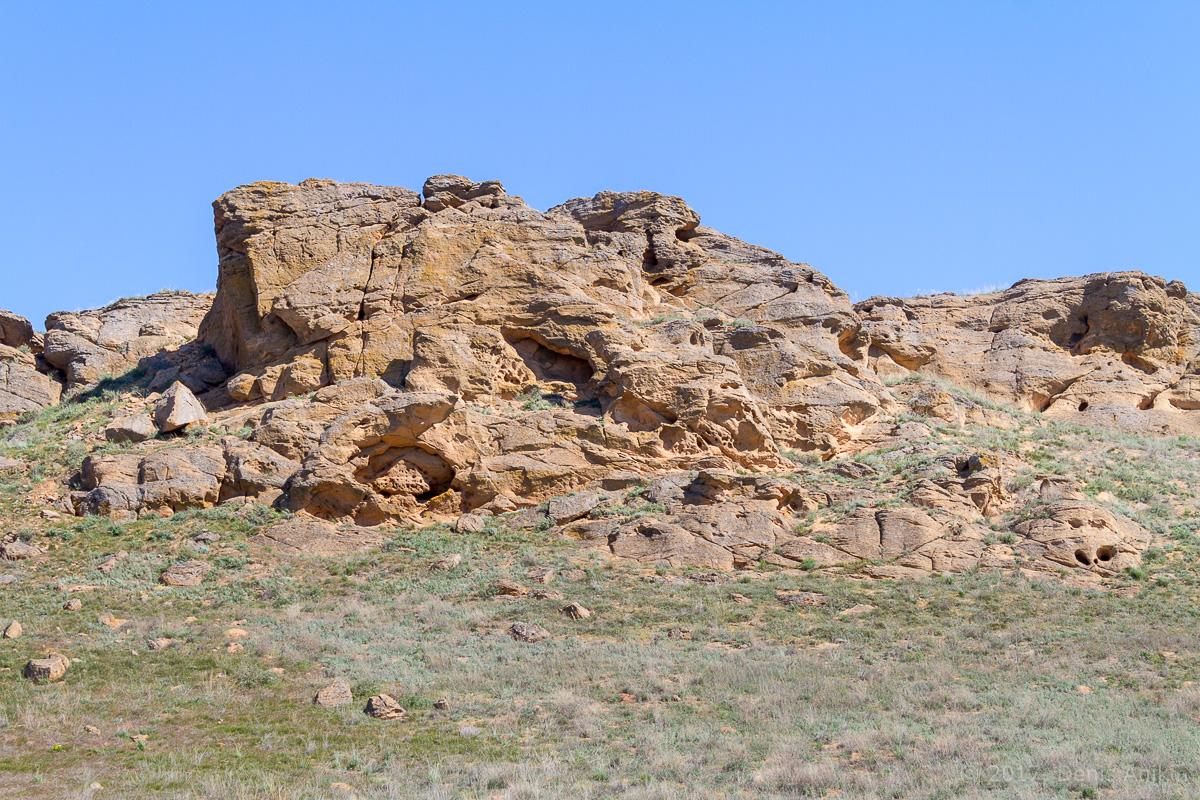 Поющие скалы Большое Богдо фото 13