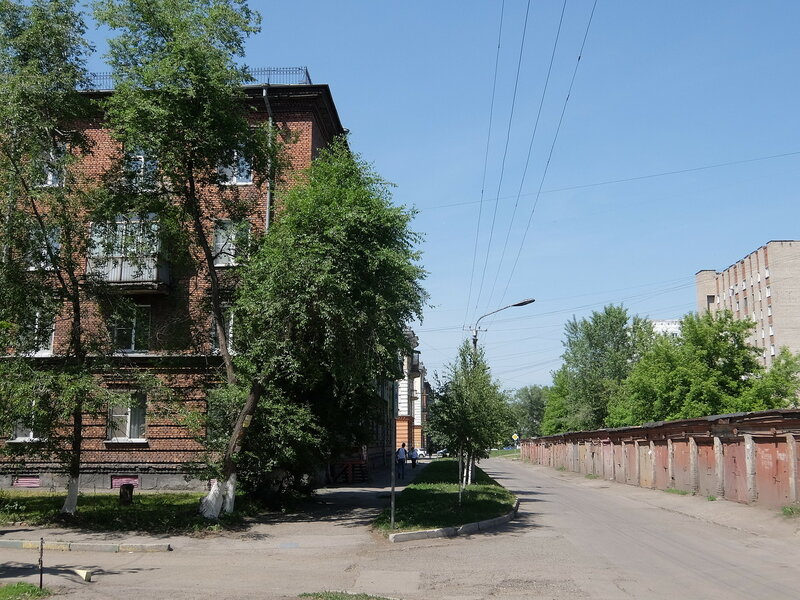 Новокузнецк - Улица Покрышкина