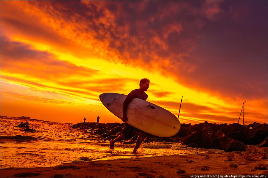 И еще гавайский закат