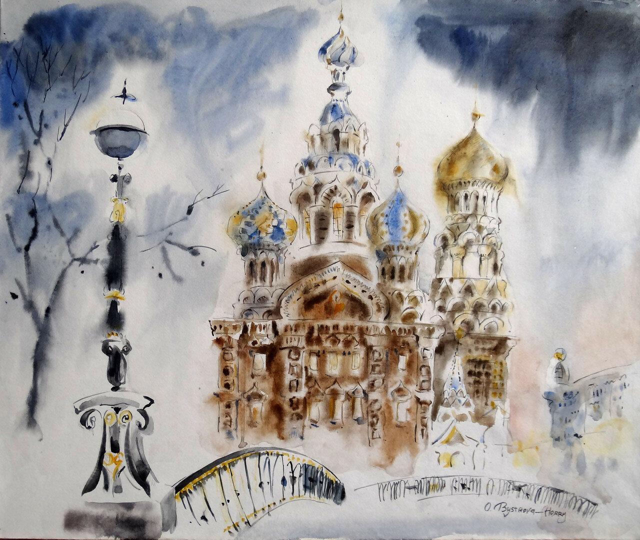 St. Pétersbourg. St. Sauveur