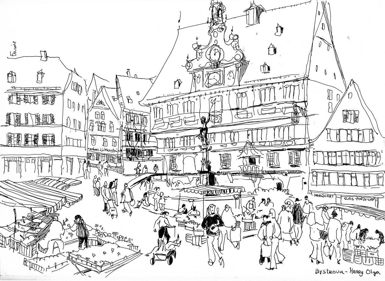 Deutschland. Tübingen