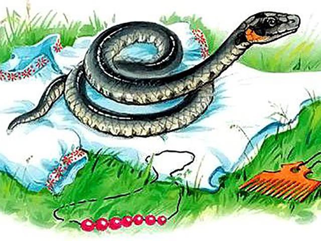 Змея в славянских поверьях