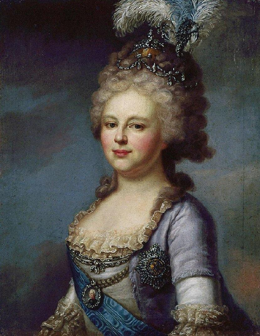 Портрет императрицы Марии Федеровны. 1790-е.jpg