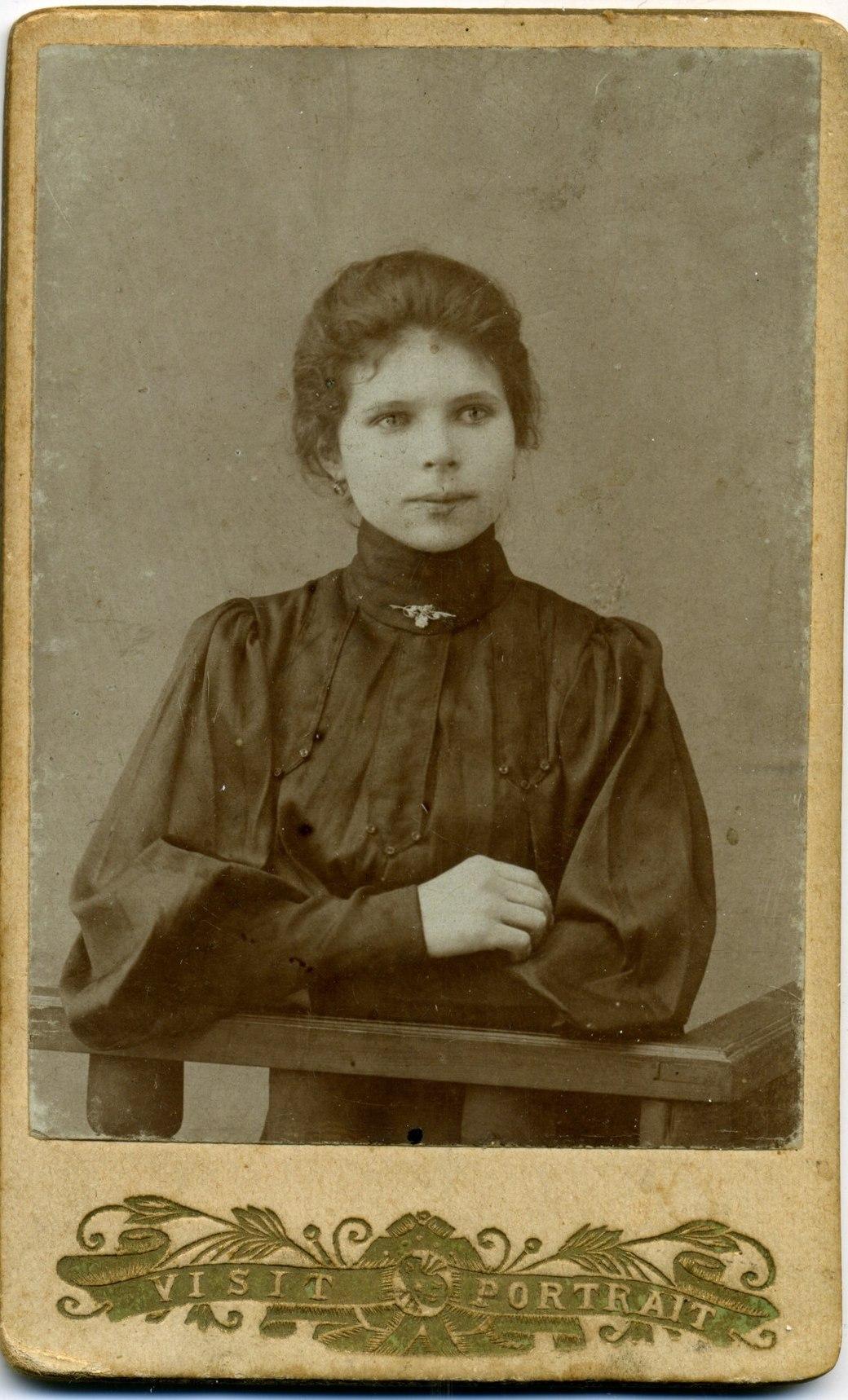 Пелагея Гречко, первая Ново-николаевская красавица, 1910-е гг.