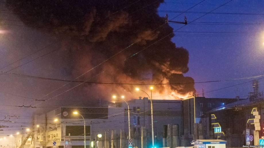 Пожар в Кемерово: семеро погибших, очаг огня был в комнате батутній