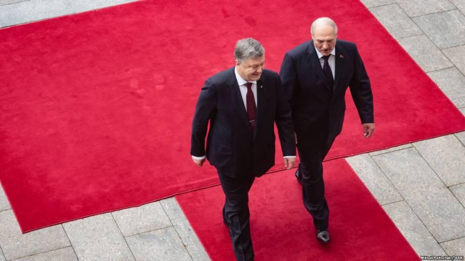 Порошенко и Лукашенко обсудили «вопросы повестки дня» отношений Украины и Беларуси