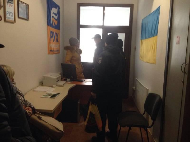 На Тернопольщине в офисе ДВИЖЕНИЯ НОВЫХ СИЛ пытались устроить провокацию