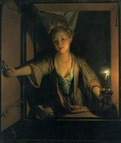 Подборка картин  «Дамы в окне в живописи»