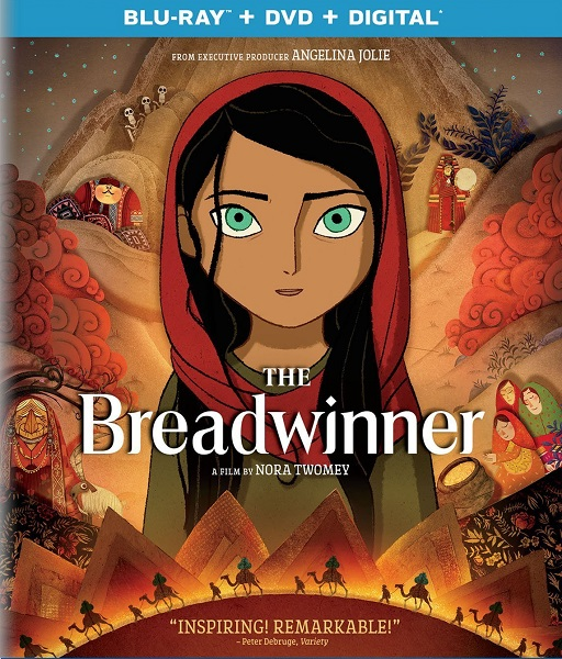 Добытчица / The Breadwinner (2017/BDRip/HDRip)