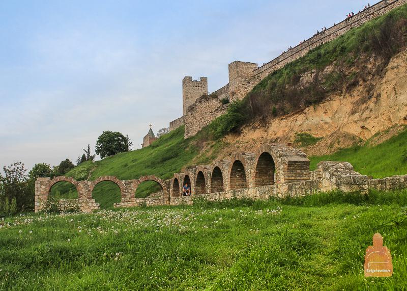Руины резиденции метрополита