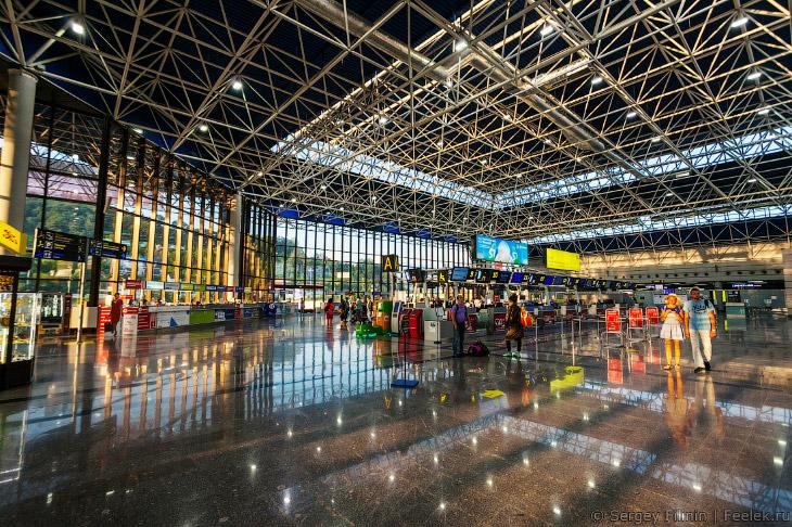 Экскурсия по аэропорту Сочи (16 фото)