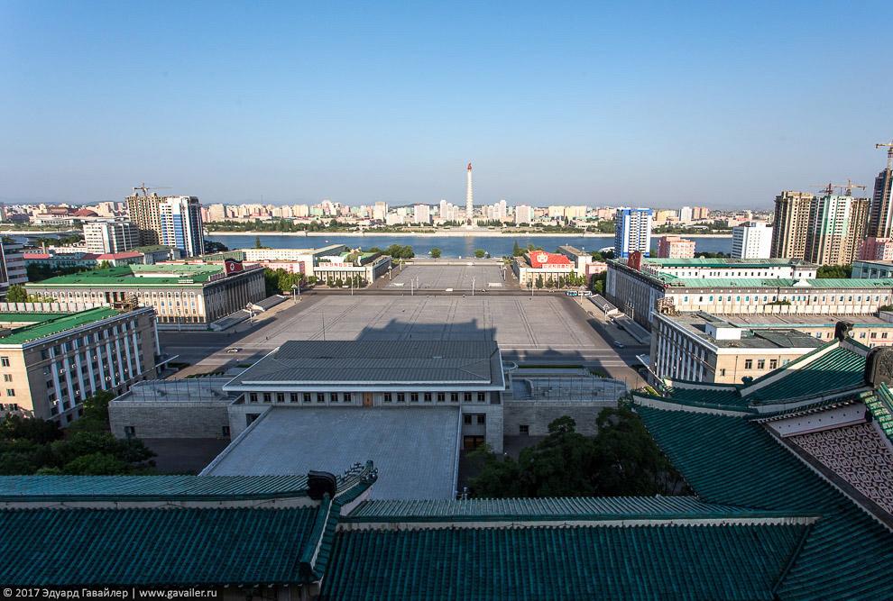 Прогулка по улицам Пхеньяна