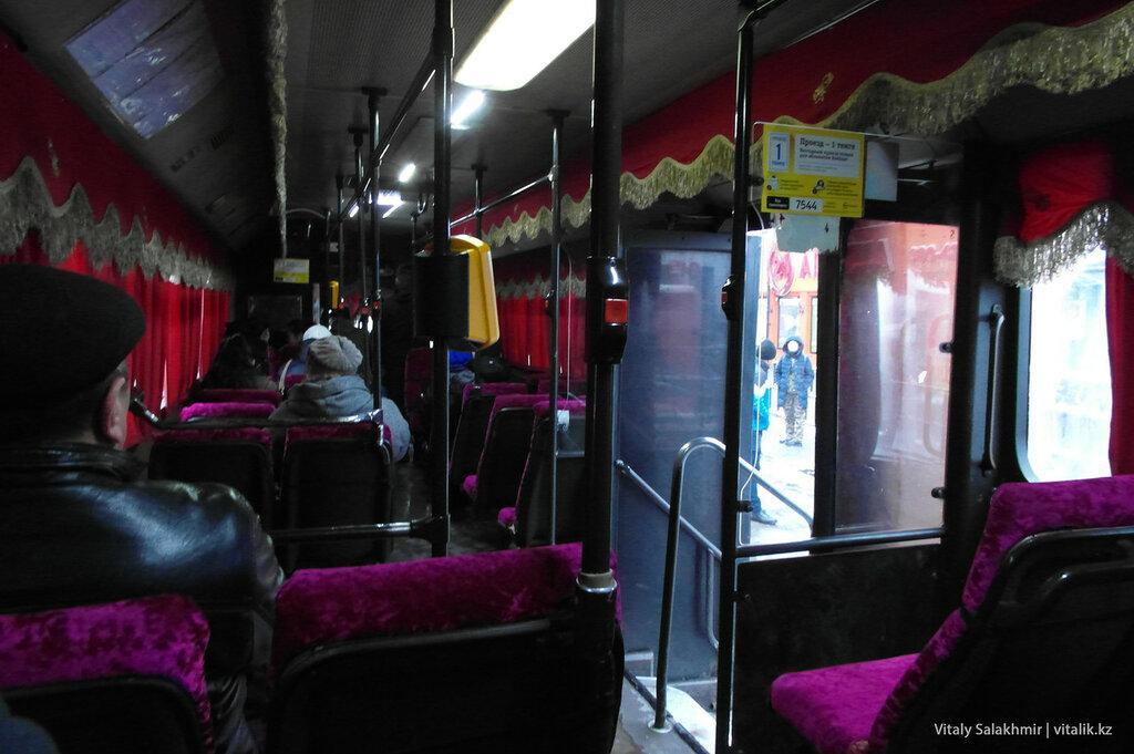 Автобус 23 в Алматы