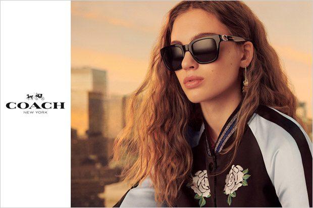 ad campaigns eyewear SS18 Womenswear