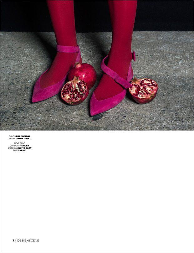 Land of Plenty by Loreen Hinz for Design SCENE Magazine #21 Issue
