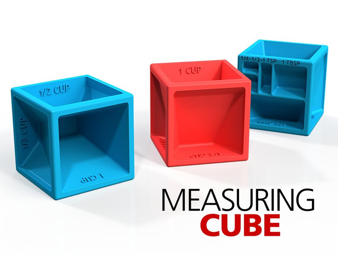 Measuring Cube – An excellent gadget to measure everything while cooking (10 pics)