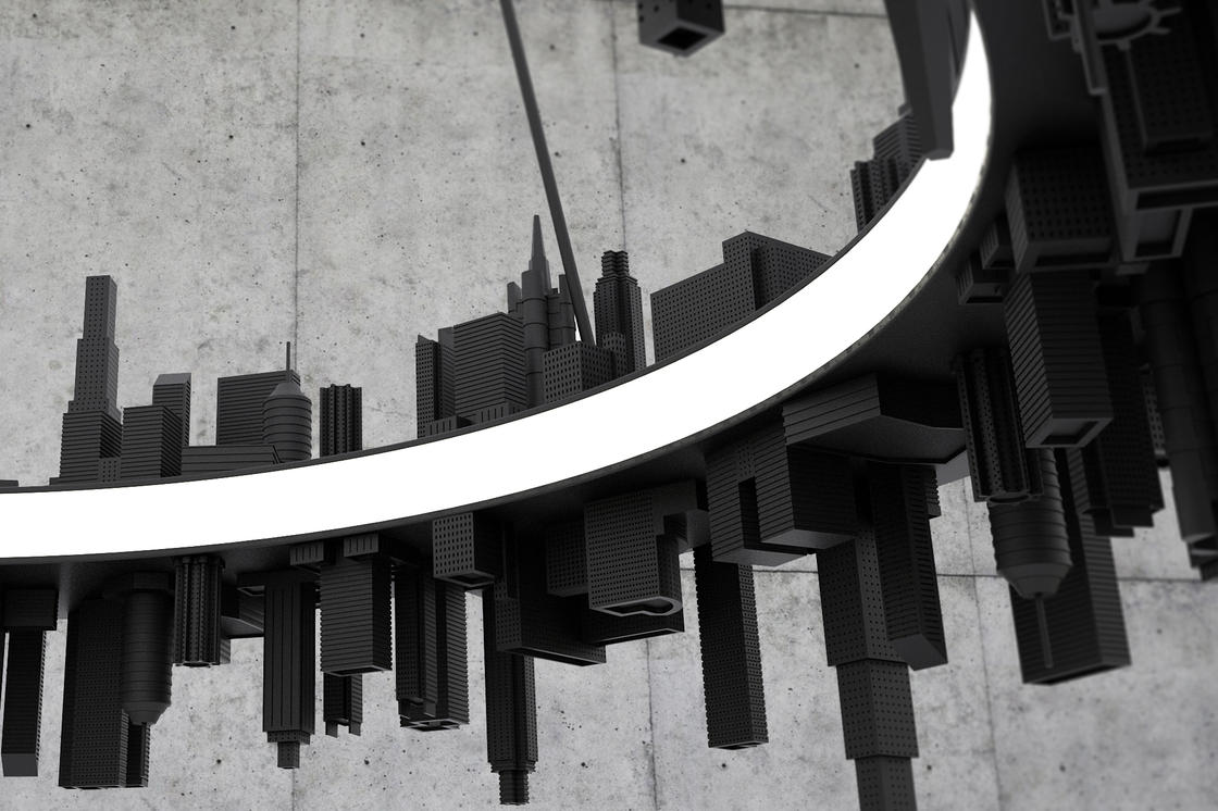 City Pendant Light – A stunning chandelier in tribute to urban landscapes