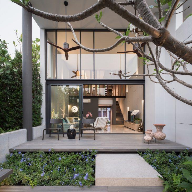 garden Modern Living reading time