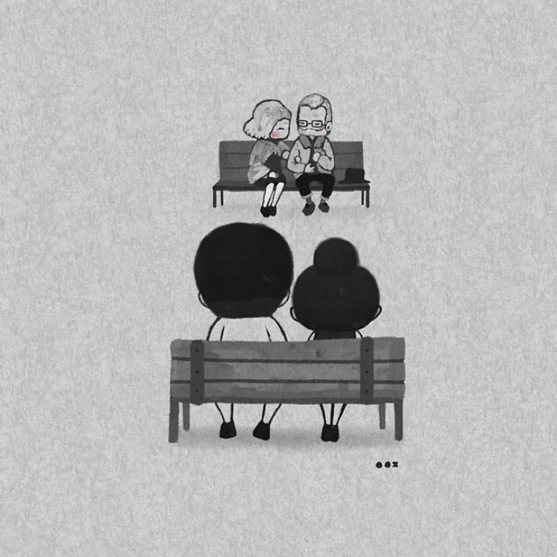 Sweet Love – She illustrates love in the little moments of everyday life