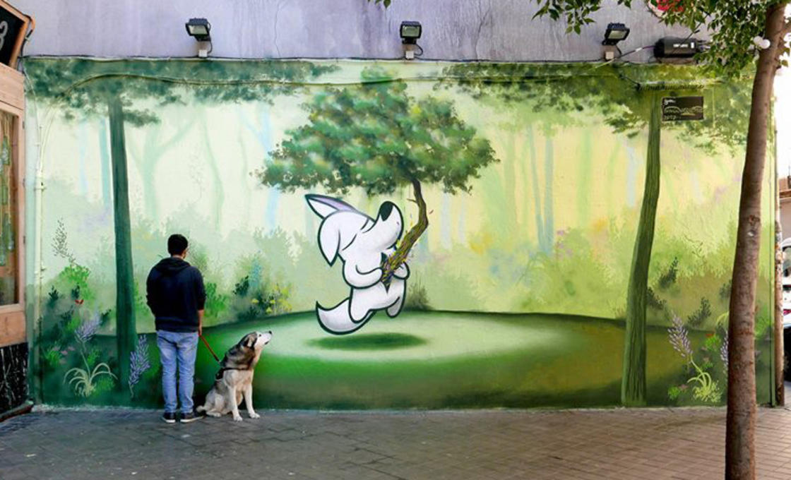 The street art of Dingo Perromudo offers us a nice breath of greenery (22 pics)