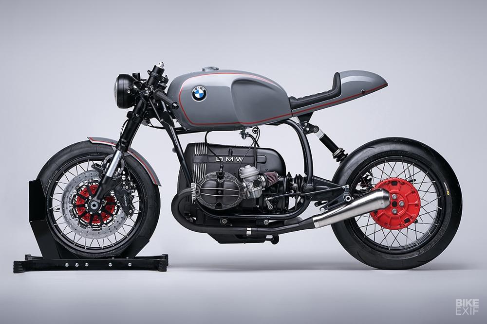 За год Diamond Atelier собрали более 20 кафе рейсеров BMW Mark II