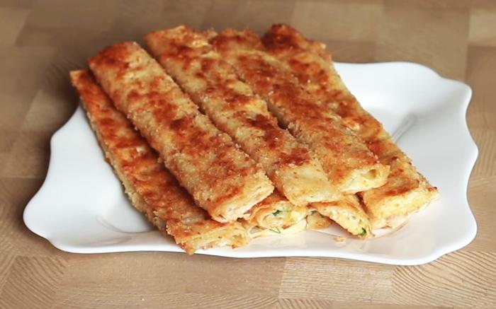 "Закуска ""Сырные палочки"" за 10 минут"