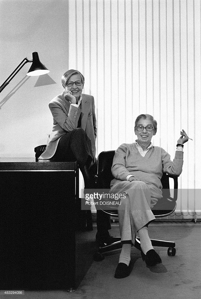 1985. Создатели коммуникационного агентства Mafia, Дэнис Фэйолл и Арнодэн  Мэм в своем офисе