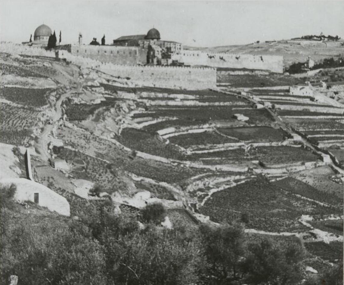 Иерусалим, Вид на город Давида