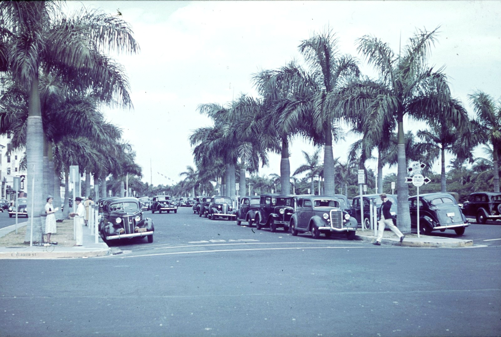 Майами. Флаглер-стрит