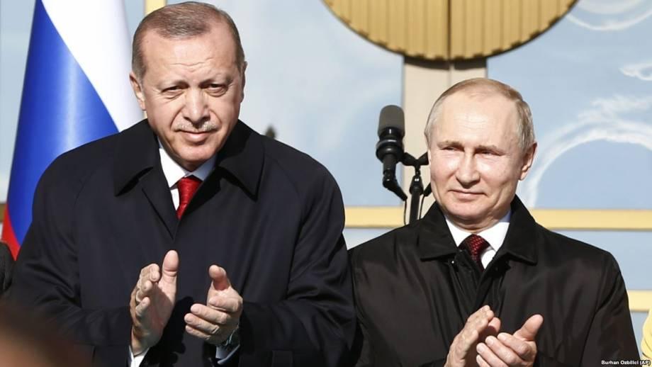 Путин и Эрдоган в Анкаре обсудили поставки С-400 и открыли строительство АЭС