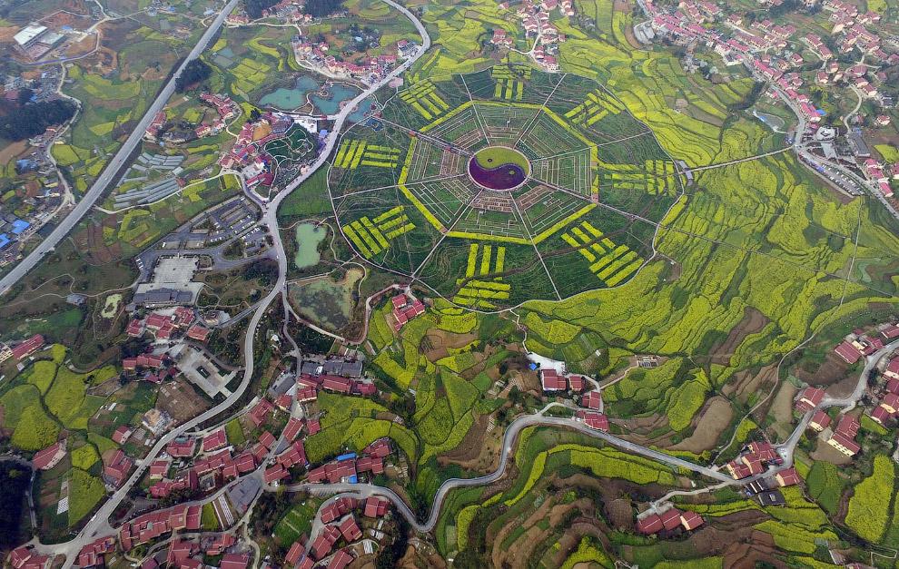 HD высота с высота с высоты горы полет города