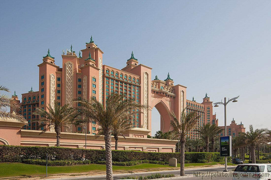 Atlantis The Palm Атлантис отель Dubai Дубаи ОАЭ UAE