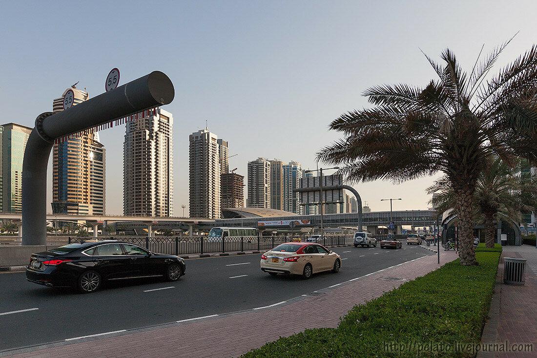 Шейх Заед Sheikh Zayed Road Dubai Дубаи ОАЭ UAE