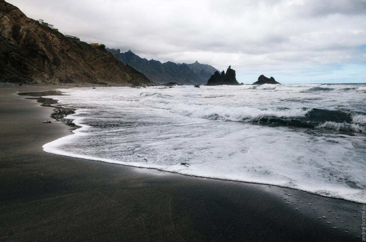 Тенерифе, Канарские острова, Канары. Пляж Бенихо