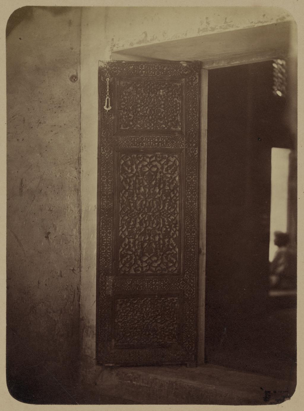 Дворец бухарских эмиров «Кок Таш». Дверь в приемную залу эмиров
