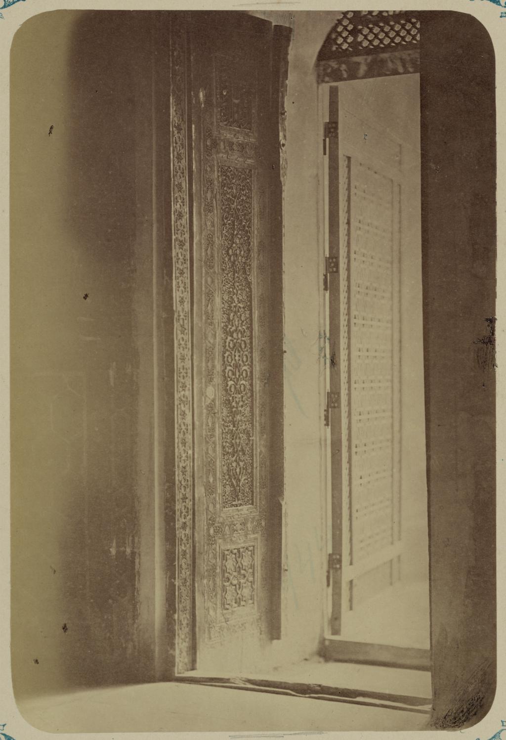 Мавзолей эмира Тимура Курагана (Гур-Эмир). Главная дверь северного фасада