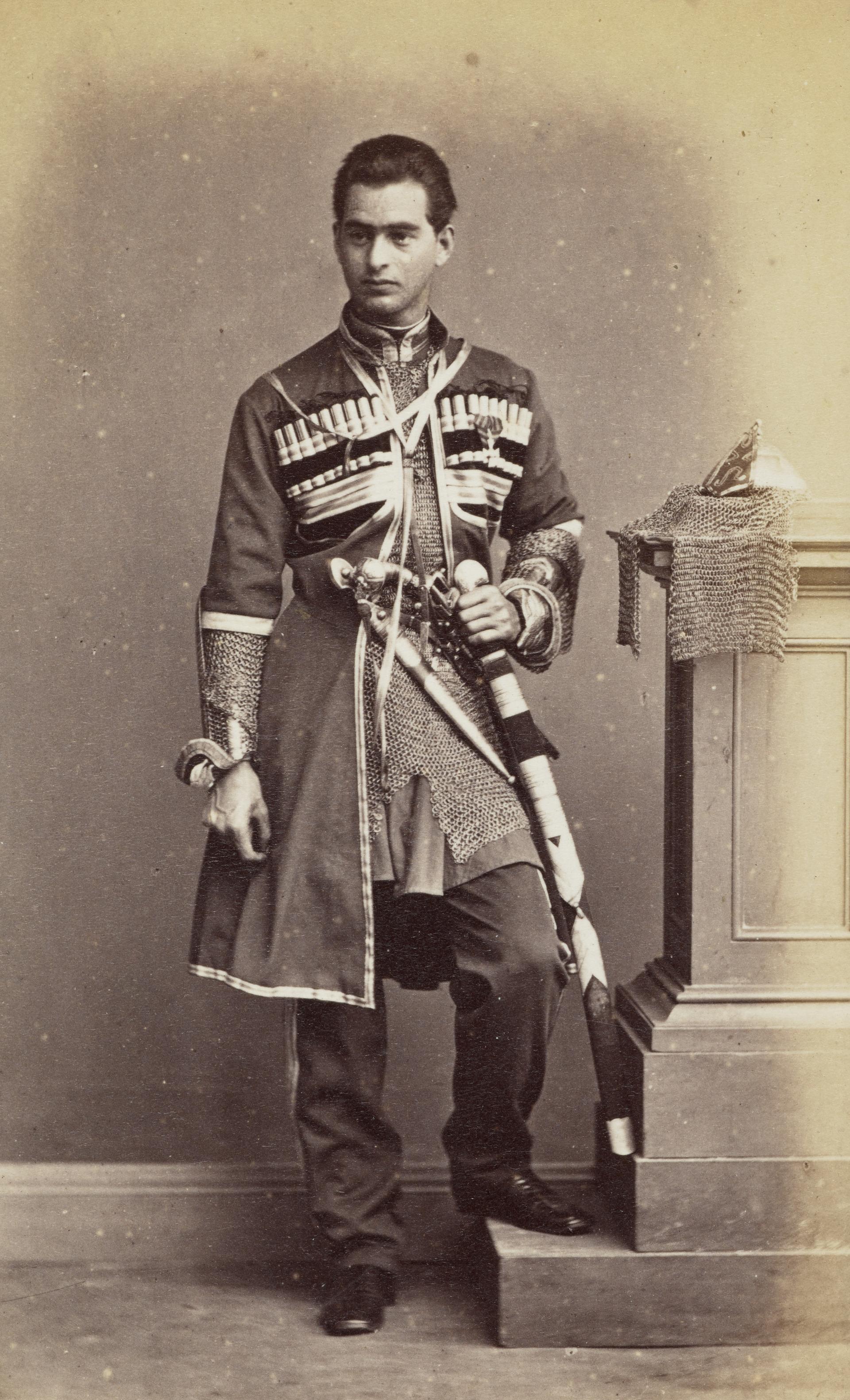 Солдат Кавказского казачьего полка