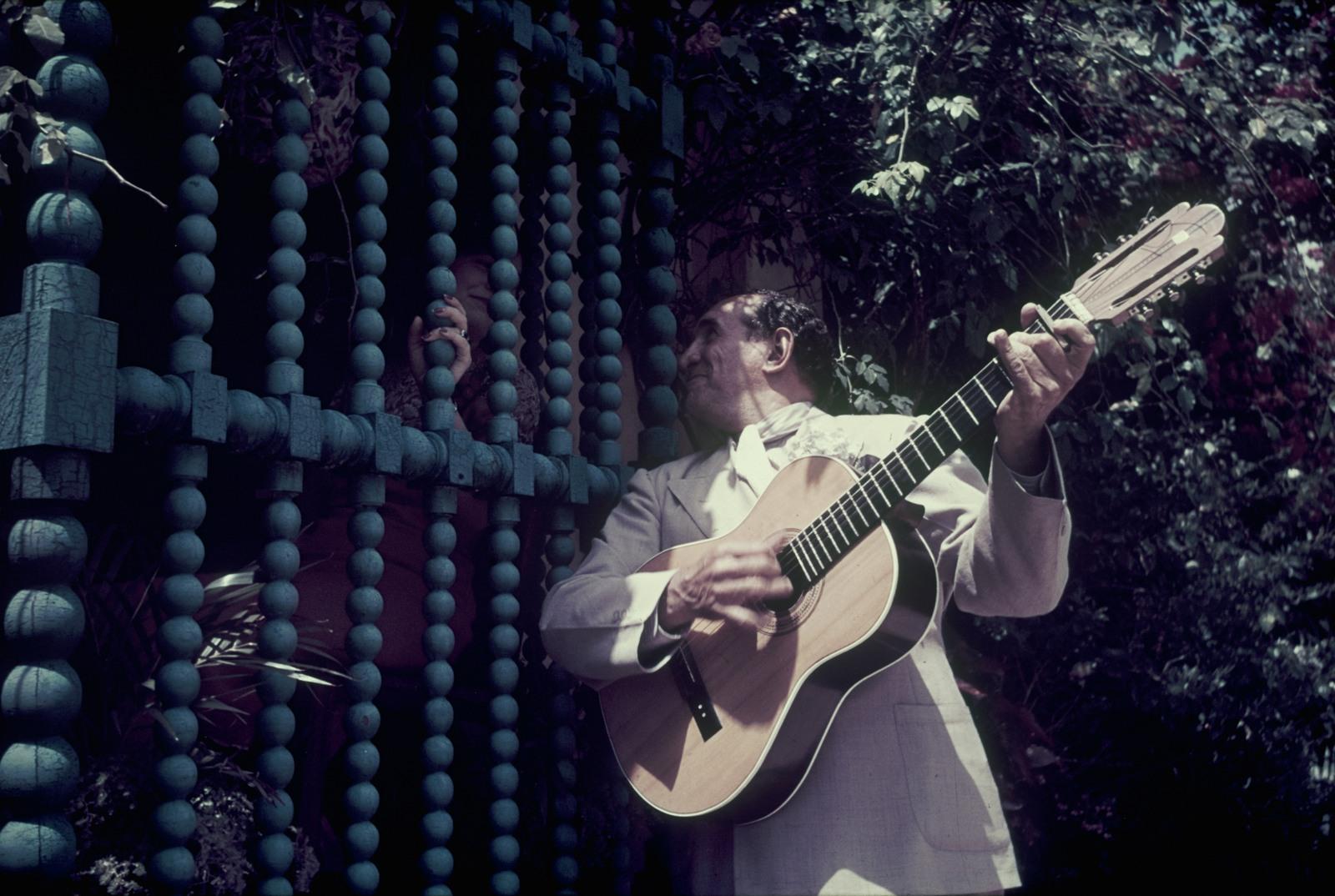 Панама. Гитарист