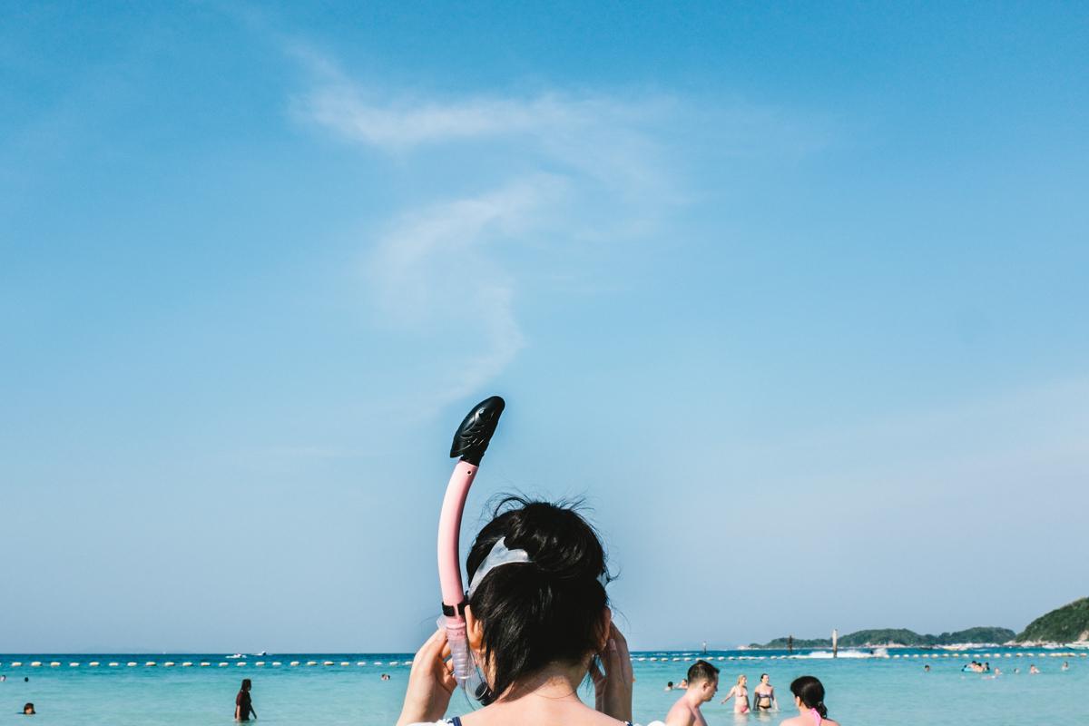 «Beach Matters»: туристы в Таиланде на снимках Ларри Халлегуа