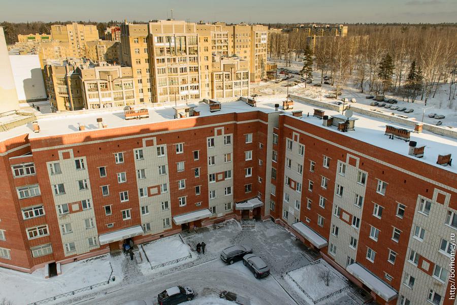 соединение жилых домов