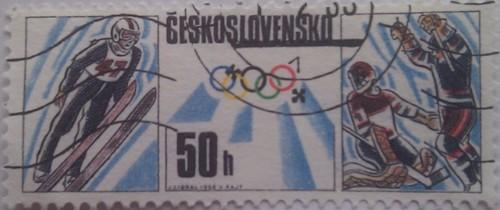 чехословакия спорт зимний 50