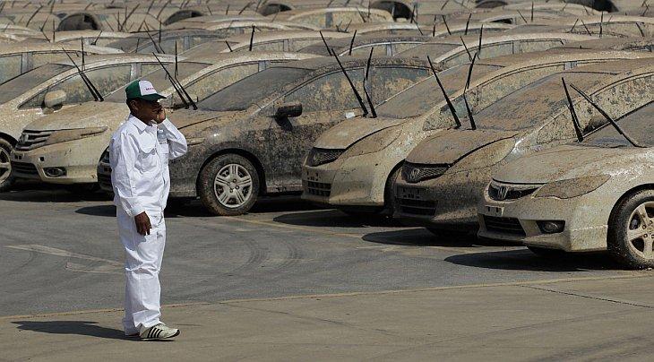 автомобиль завод наводнение Таиланд