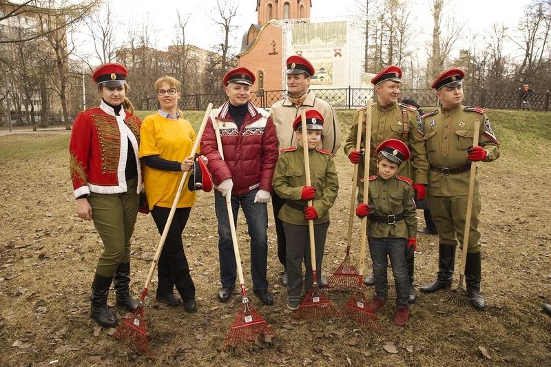 21 апреля 2018 года - субботник в Мемориальном парке героев Первой мировой войны. 0_17bd8c_a9035009_orig